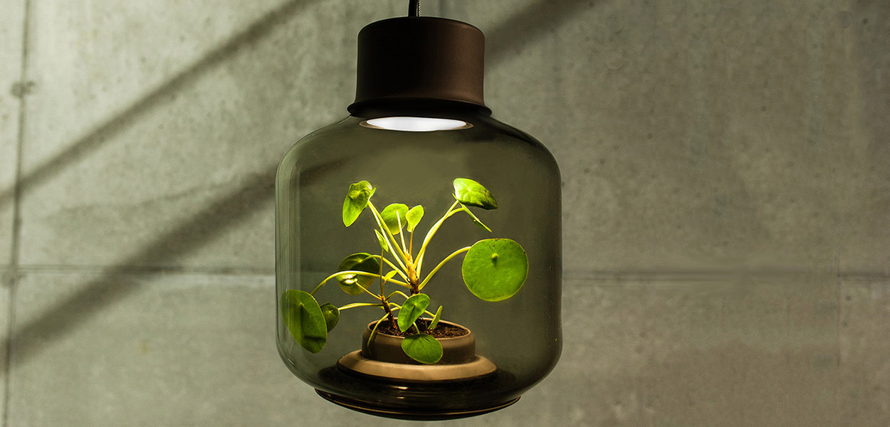 Mygdal plant lamp - grow plants in windowless spaces