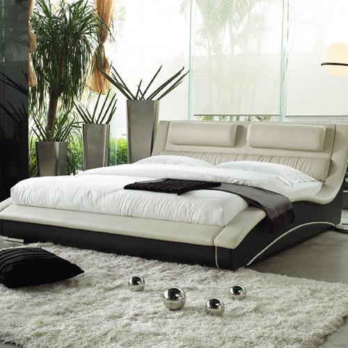 Napoli Platform Bed Cream