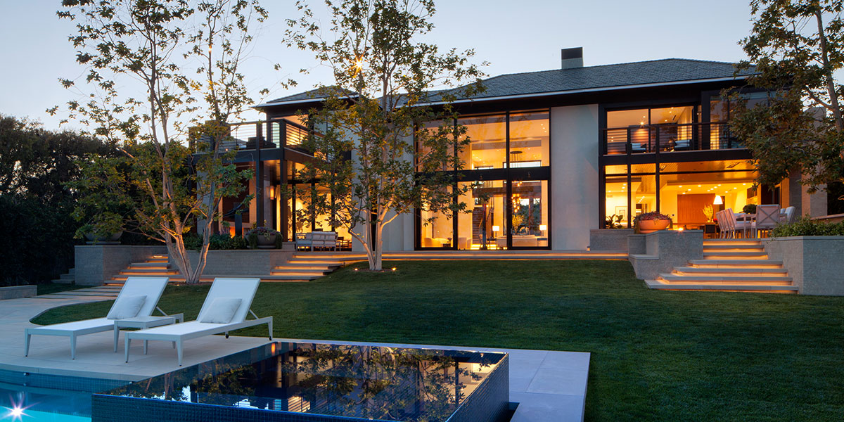 Beautiful Exterior Of Los Angeles House By Abramson Teiger Architects