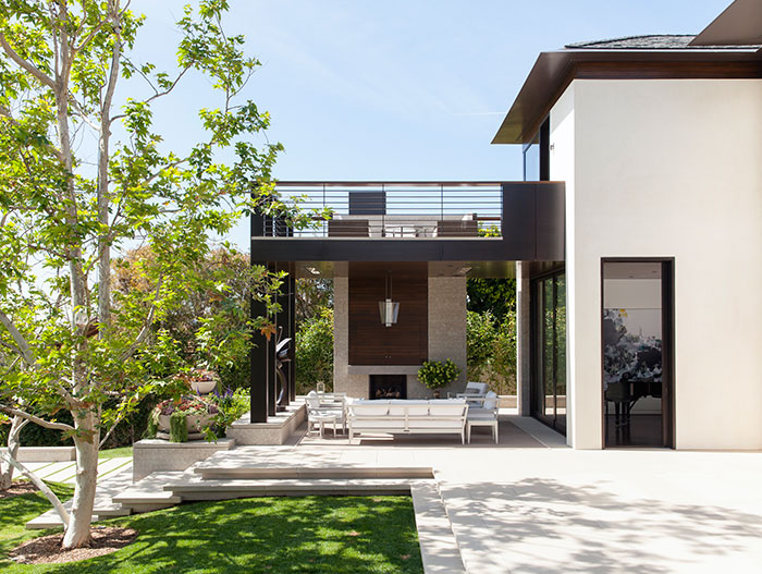 Napoli Residence by Abramson Teiger Architects Exterior