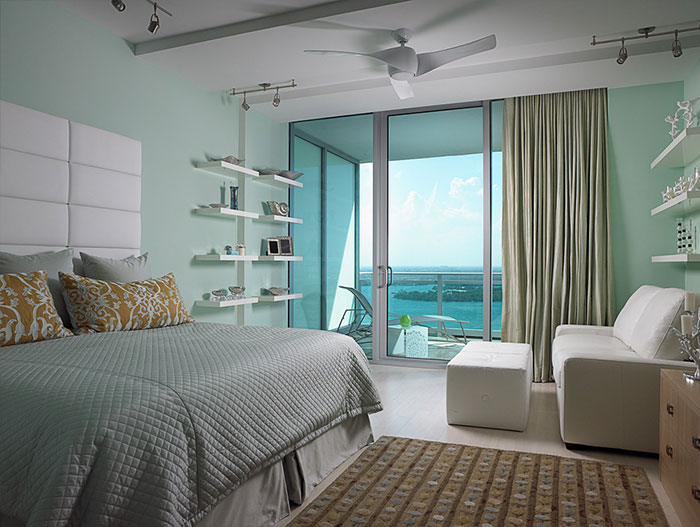 One Bal Harbor Residence Oceanfront Bedroom