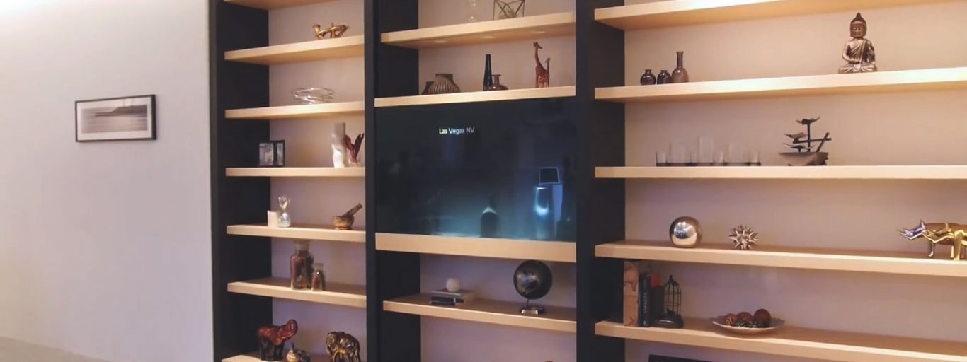 Panasonic unveils transparent display and speaker prototypes for smart homes of the future