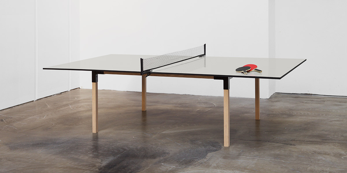 Pull Pong Multi Purpose Table That Lets You Play Ping