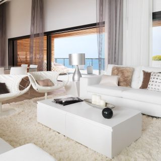 Pure White Residence By Susanna Cots