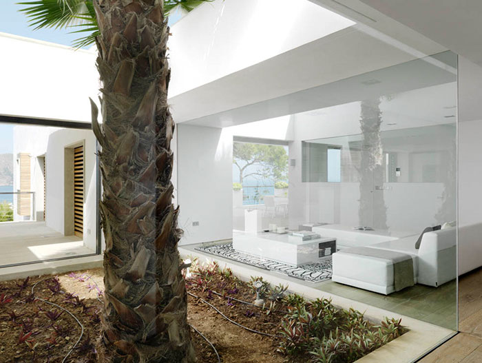 Pure White Residence Exterior View