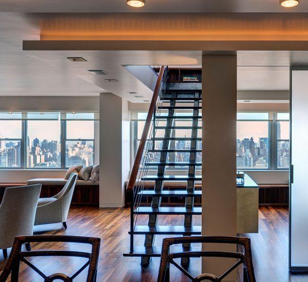 Richman Duplex By Lilian H Weinreich Architects