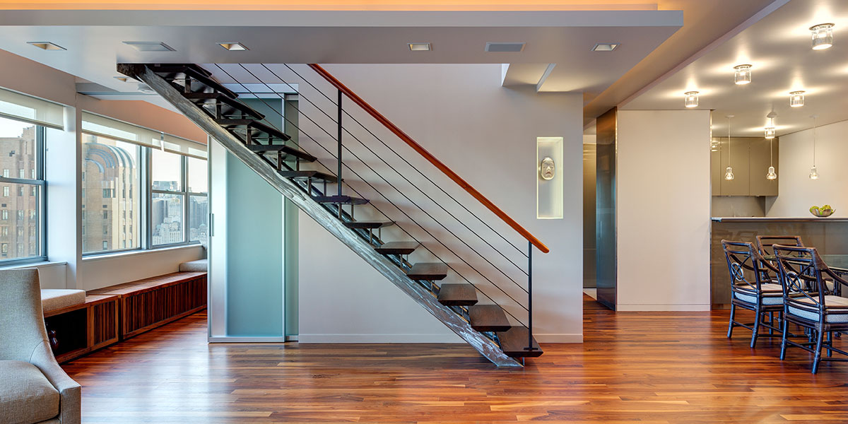 Stunning Manhattan Duplex By Lilian H Weinreich Architects