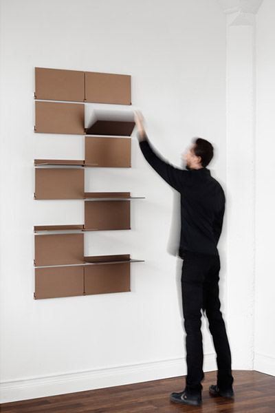 Riveli Shelving versatile shelving system for small apartments