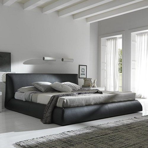 Rosetto Coco Platform Bed Brown