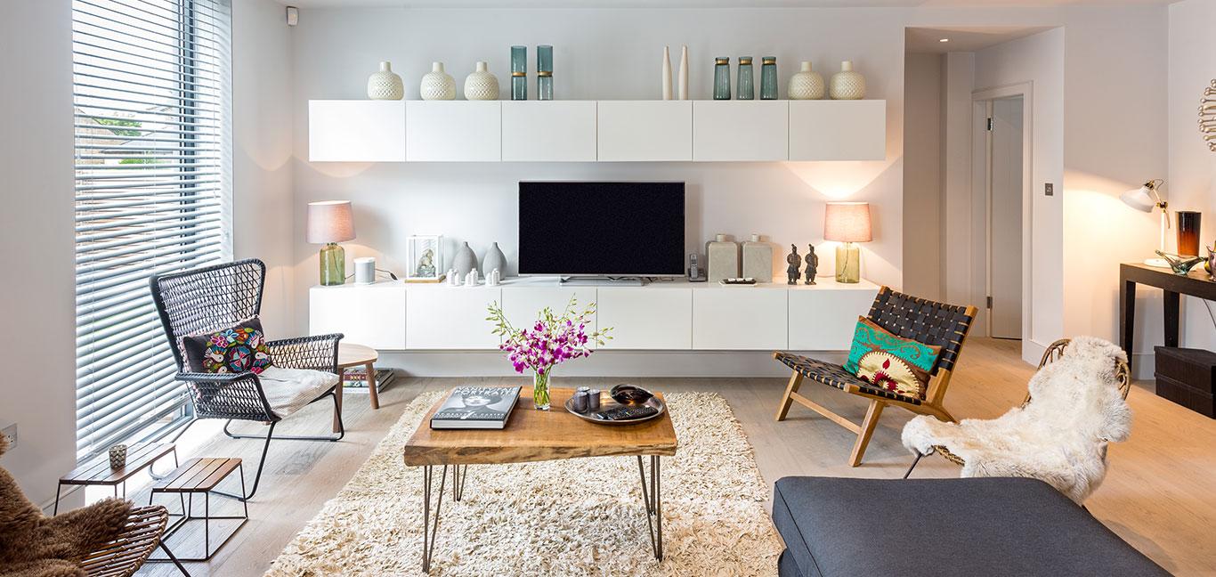 Scandinavian Style Living Room Design