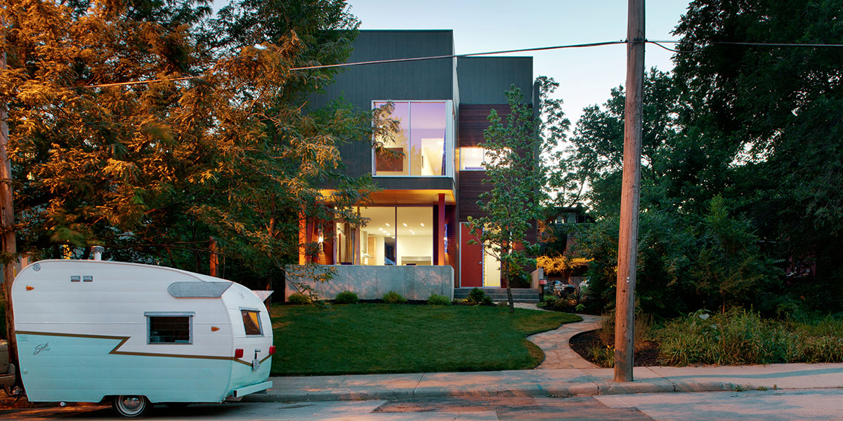 Shepherds Residence - Modern Three-Storey Kansas City Home Perfect For Starting A Family