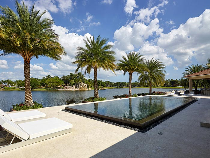 Spectacular Outdoor View In Miami Beach Florida