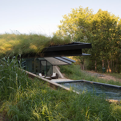 Sustainable Triangular House In Austin Texas