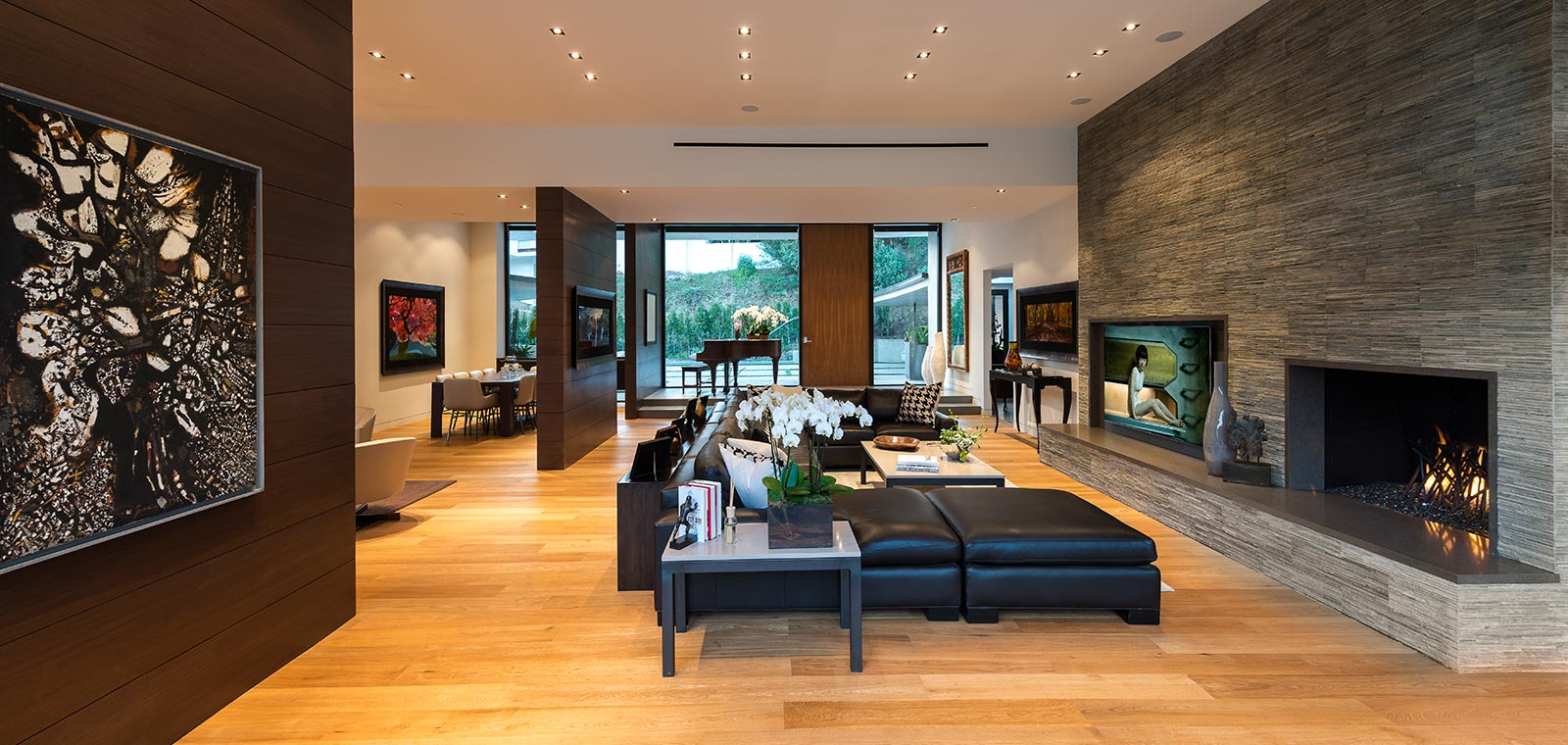 Wallace Ridge by Whipple Russell Architects - Stunning Living Room