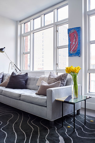 Washington Place by Living Room Design