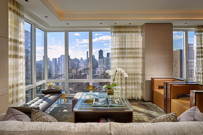 Wasserman Residence Luxurious Living Room With Spectacular Views