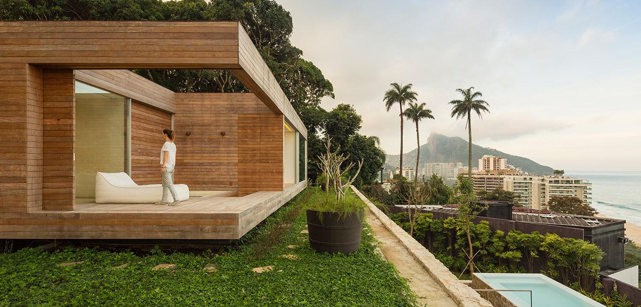 AL house luxurious modern villa Brazil by Studio Arthur Casas