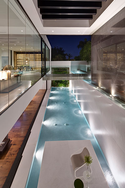 Amazing mansion in Los Angeles, California by McClean Design