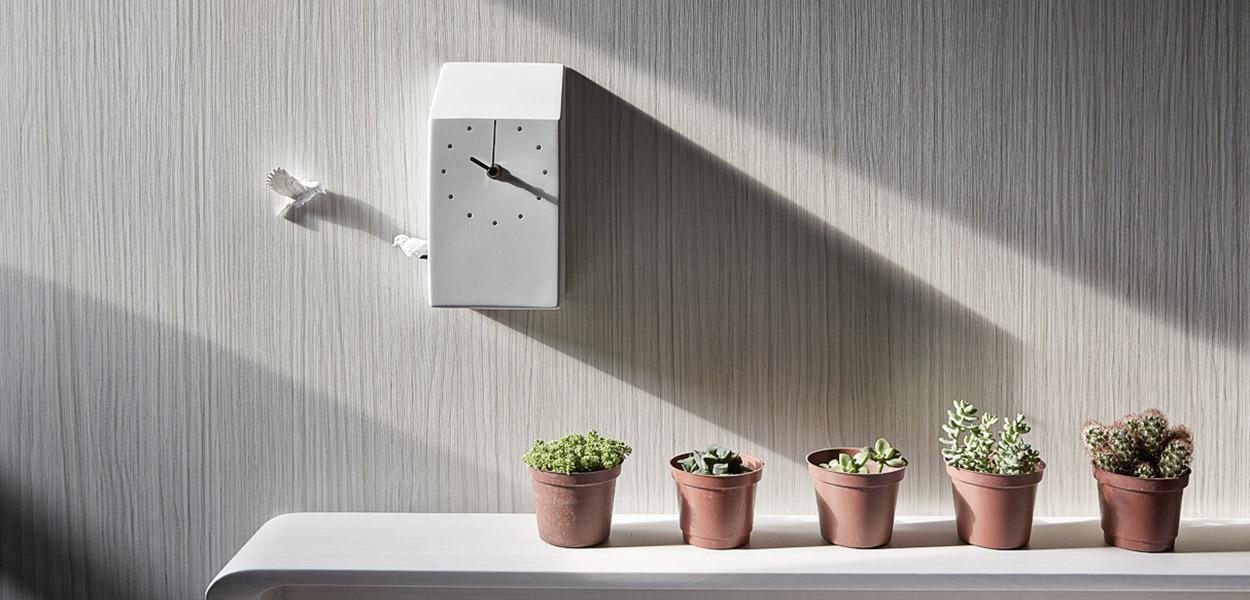 Beautiful cuckoo x clock by haoshi design