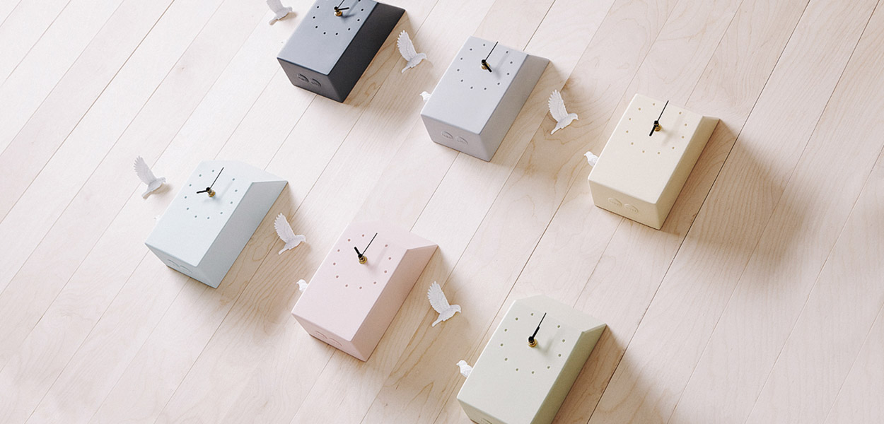 Beautiful cuckoo x clocks by haoshi design