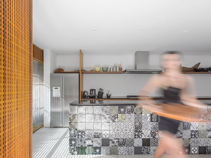 Txai House - modern brazilian kitchen design