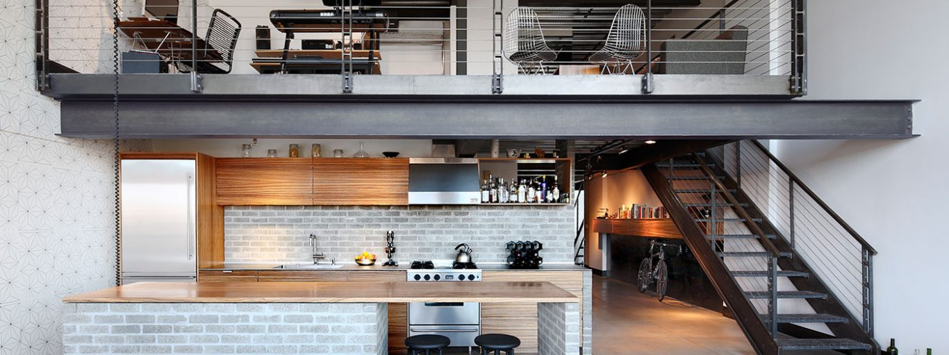 Stunning Capitol Hill loft transformation by SHED Architecture