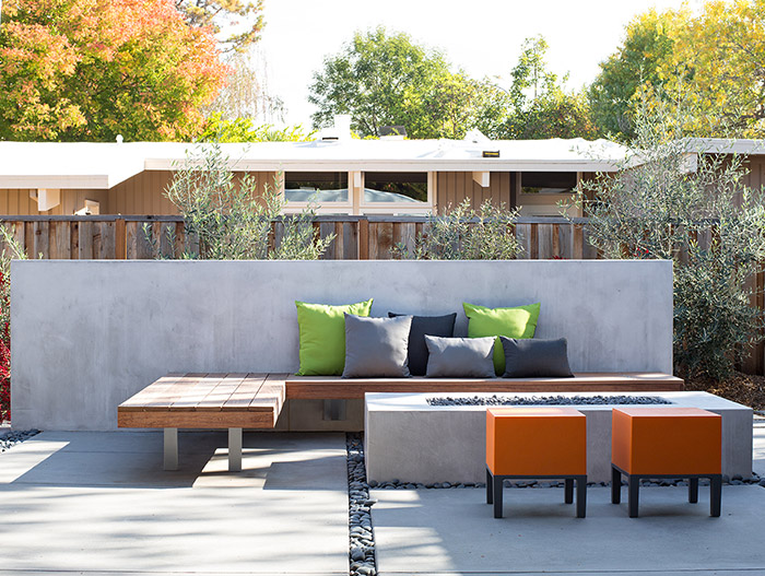 Classic single-family house in the heart of Silicon Valley gets modern outdoor area