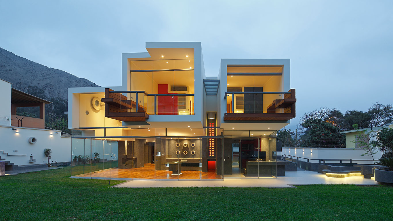 Contemporary architecture at its best breathtaking house in peru by longhi architects