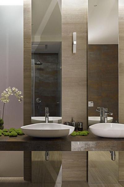 Contemporary bathroom design by Alexandra Fedorova