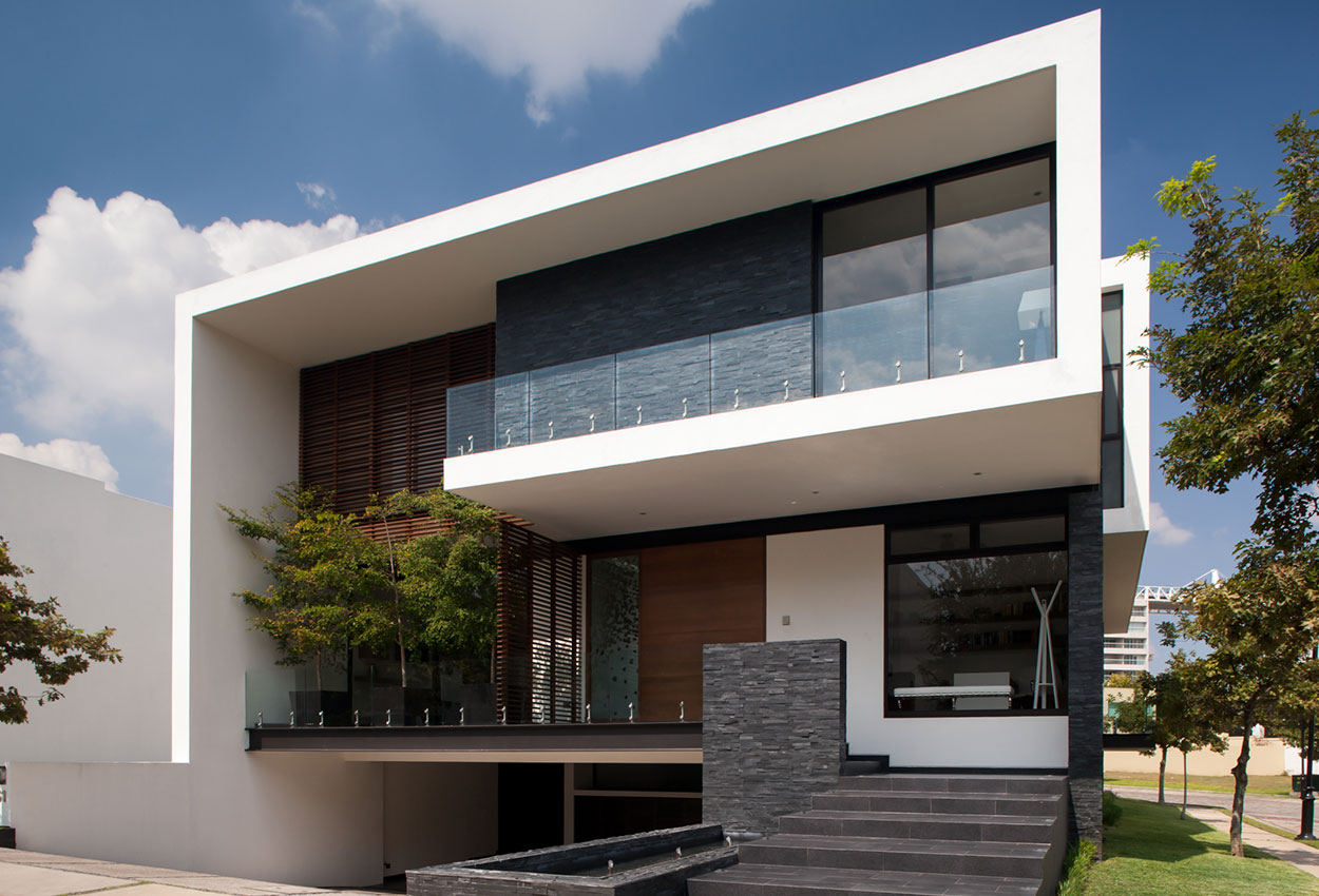 Contemporary house in Mexico by GLR Arquitectos