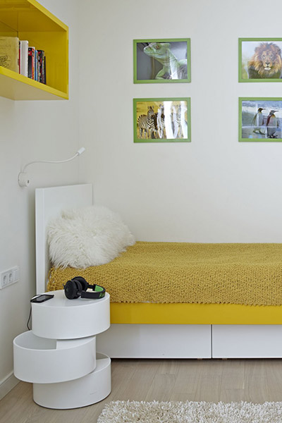 Contemporary kids room in Moscow, Russia apartment