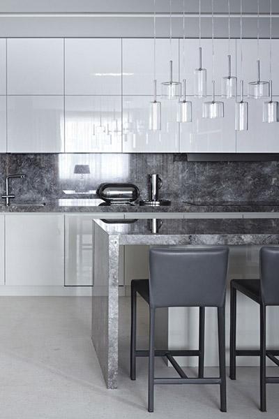 Contemporary kitchen design by Alexandra Fedorova