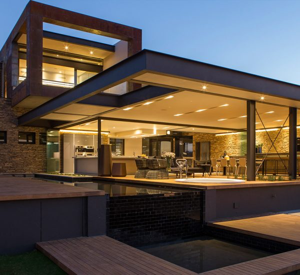 This contemporary mansion in South Africa by Nico van der Meulen Architects blends luxury with comfort
