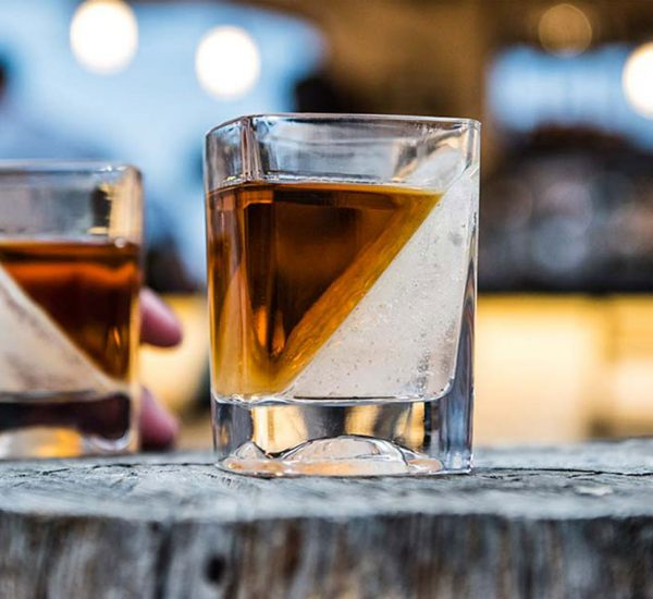 Corkcicle Whiskey Wedge Glass Featured Image