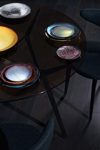 Cosmic dinnerware set by Diesel Living and Seletti