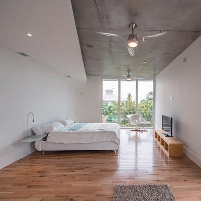 Di Lido Island house, Miami Beach Florida wtih stunning modern bedroom