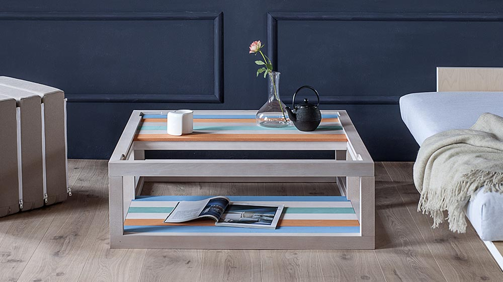 Dogo Coffee Table And Bookcase By Formabilio