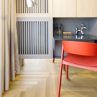 Stylish and functional apartment in the heart of Bucharest - by Rosu-Ciocodeica