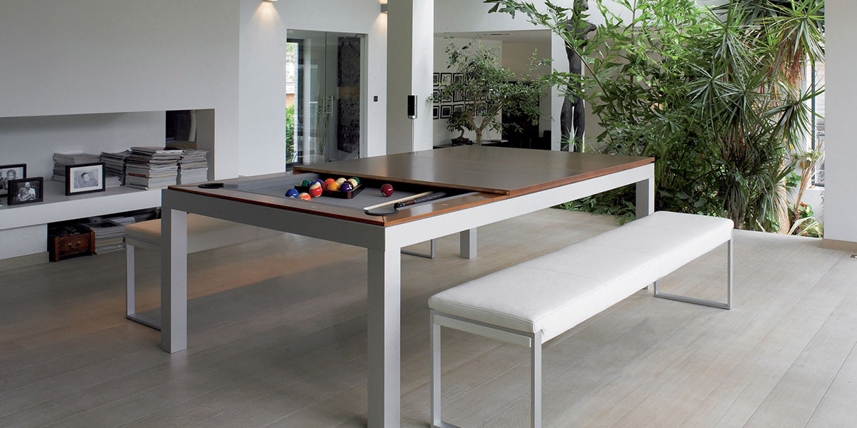Fusion tables fusion pool tables transformable dining tables for pool pla - Table billard transformable ...