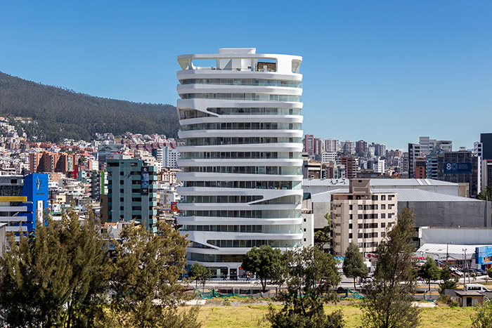 GAIA building by Leppanen + Anker Architects: Amazing contemporary landmark in Quito, Ecuador