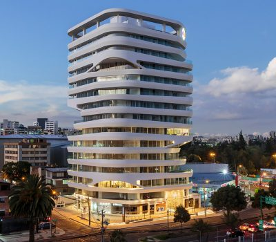 GAIA building by Leppanen + Anker Architects: Contemporary landmark in Quito, Ecuador