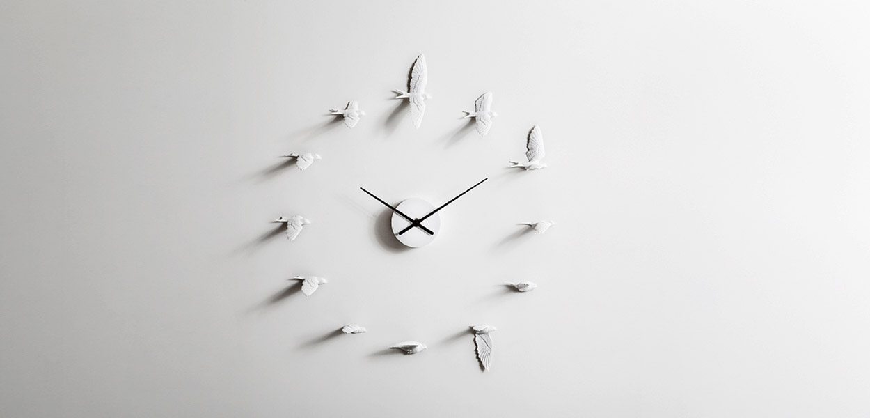 Gorgeous wall clock by haoshi design home decor idea