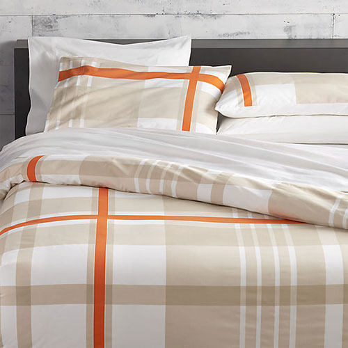 Lively Orange Bed Linens