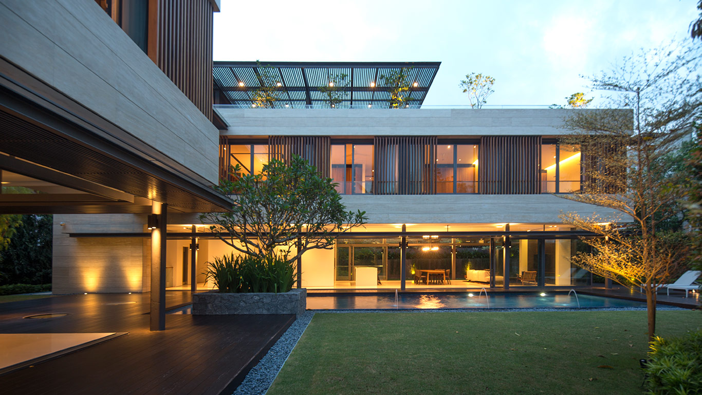 Secret Garden House Luxurious Contemporary Family Home In