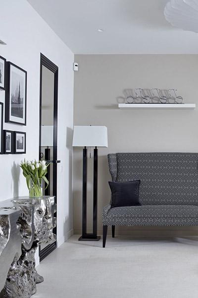 Luxury interior design in Russian apartment