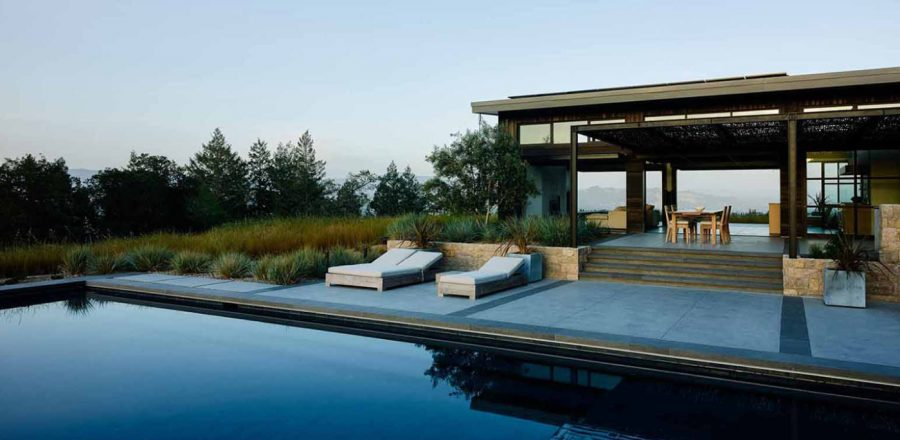 Modern Home In California S Wine Country For An Indoor Outdoor