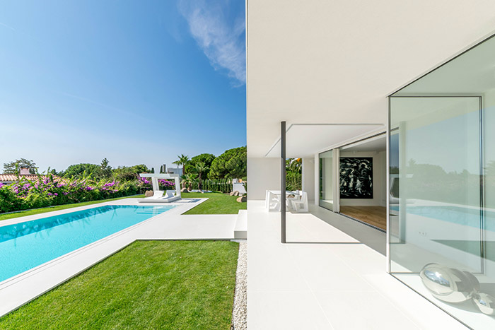 From old house to modern Mediterranean-inspired residence near Barcelona, Spain by 08023 Architects
