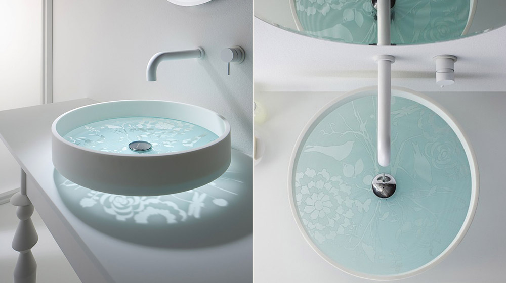 Motif Basin creative bathroom sink by omvivo