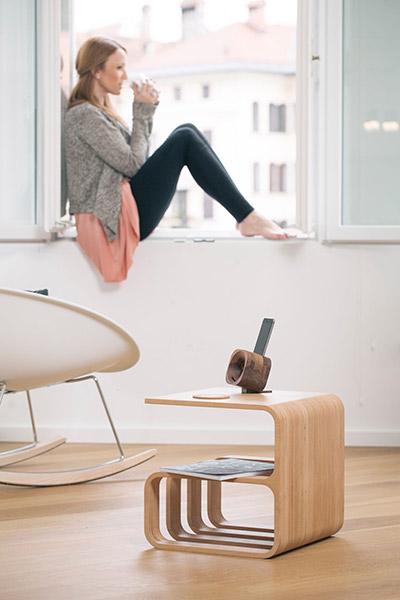 Multipurpose furniture Woodieful chair