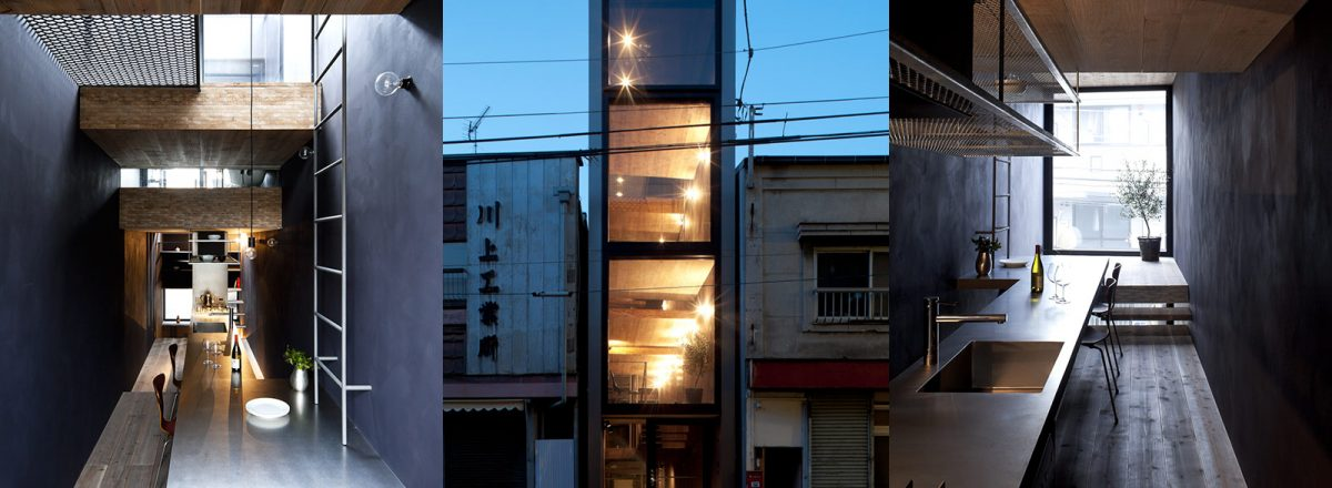 Extremely narrow 1.8m house in Tokyo, Japan by YUUA Architects